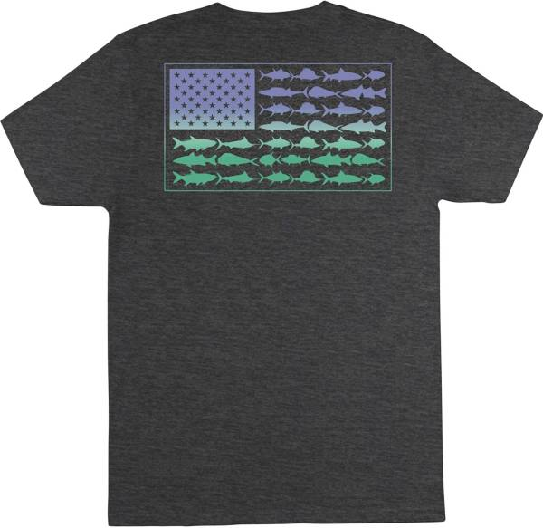 Columbia Men's PFG Americana Saltwater Fish Flag T-Shirt product image