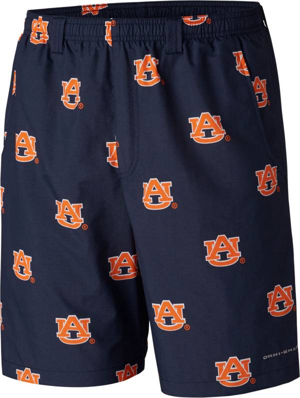 Columbia Men's Auburn Tigers Blue Backcast II Printed Performance Shorts product image