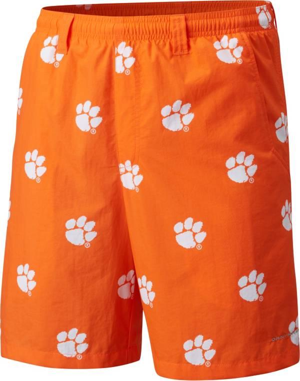 Columbia Men's Clemson Tigers Orange Backcast II Printed Performance Shorts product image