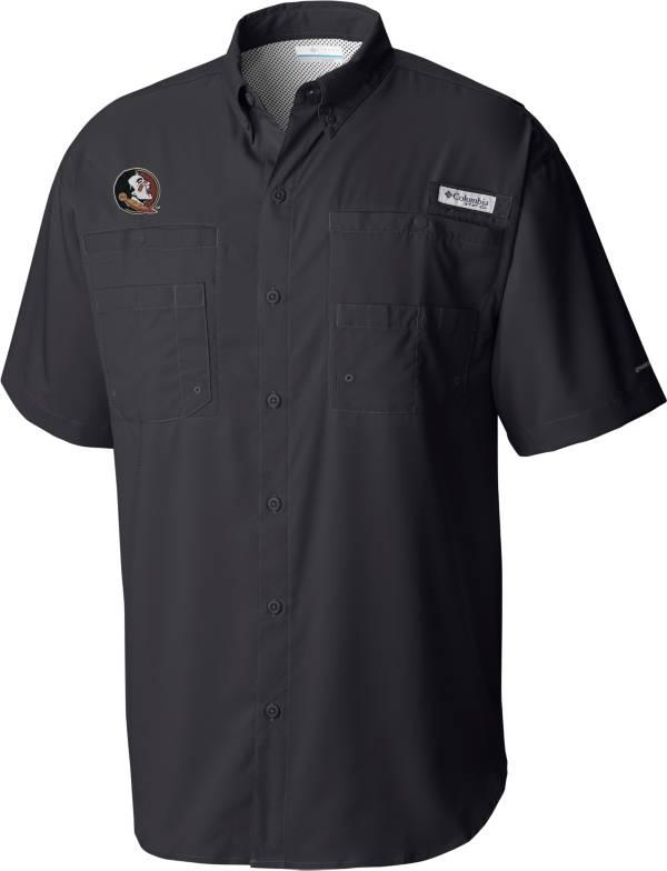 Columbia Men's Florida State Seminoles Grey Tamiami Short Sleeve Shirt product image