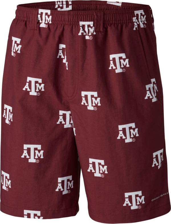 Columbia Men's Texas A&M Aggies Maroon Backcast II Printed Performance Shorts product image