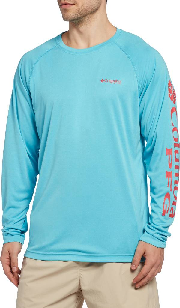Columbia Men's PFG Terminal Tackle Heather Long Sleeve Shirt product image
