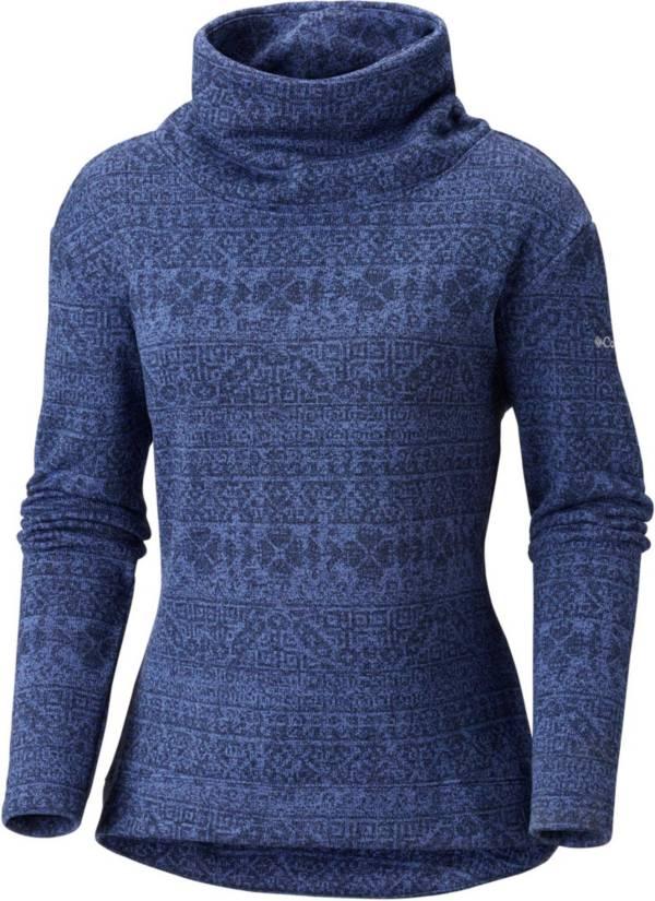 Columbia Women's Sweater Season Printed Pullover Long Sleeve Shirt product image