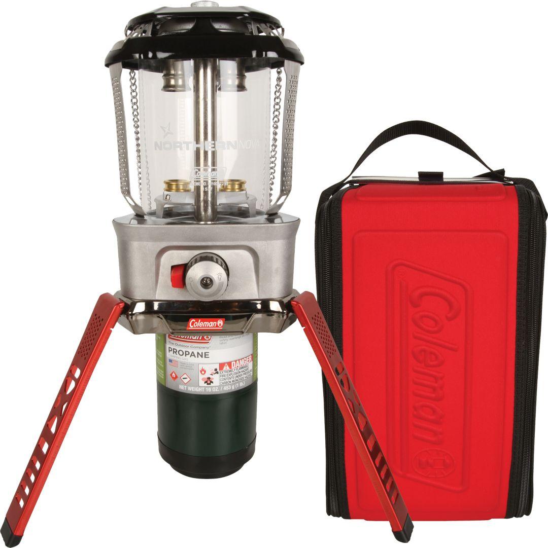 Coleman Northern Nova Propane Lantern with Case