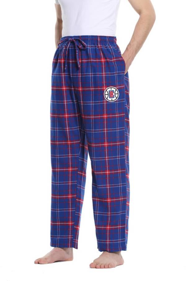 Concepts Sport Men's Los Angeles Clippers Plaid Flannel Pajama Pants product image