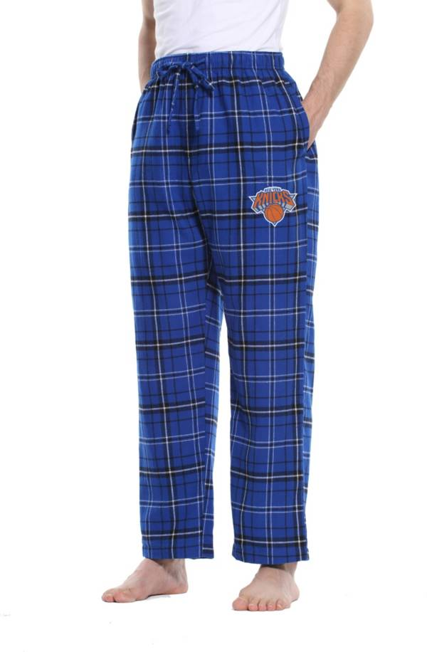 Concepts Sport Men's New York Knicks Plaid Flannel Pajama Pants product image