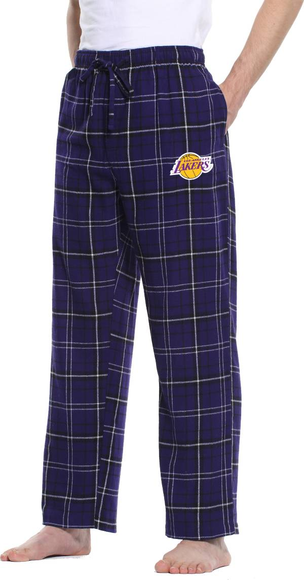 Concepts Sport Men's Los Angeles Lakers Plaid Flannel Pajama Pants product image