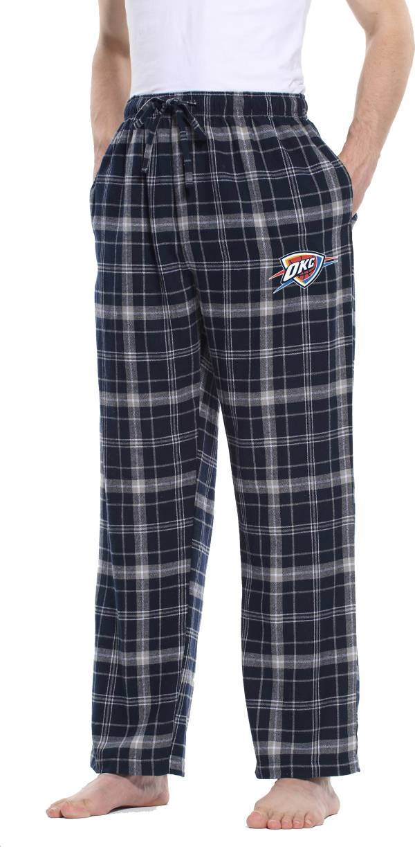 Concepts Sport Men's Oklahoma City Thunder Plaid Flannel Pajama Pants product image