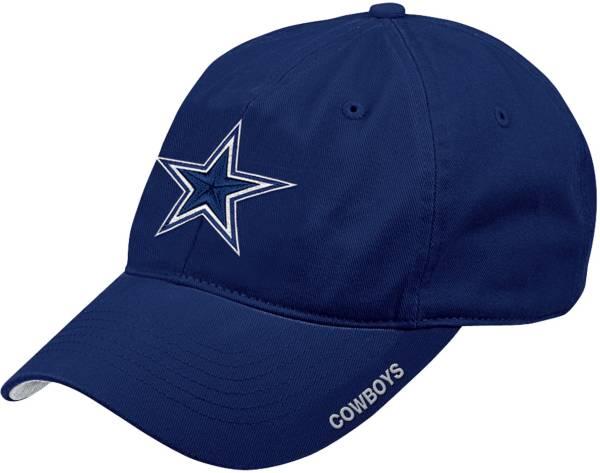 Dallas Cowboys Merchandising Men's Slouch Adjustable Navy Hat product image
