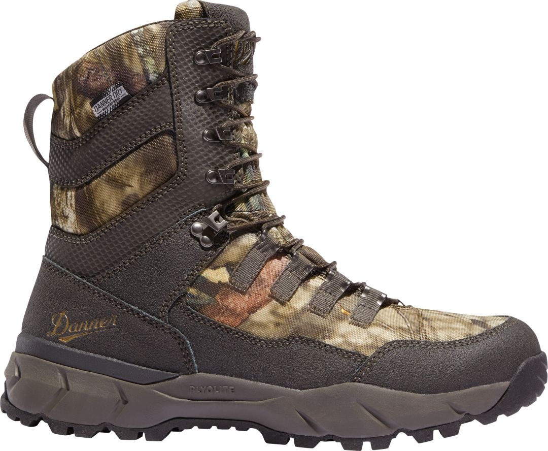 ba7cd09af14 Danner Men's Vital Mossy Oak 8'' 400g Waterproof Hunting Boots