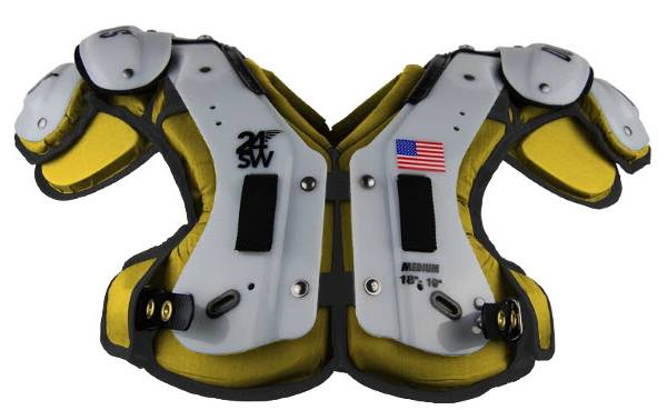Douglas Adult 24SW Flat Skill Position Shoulder Pads product image