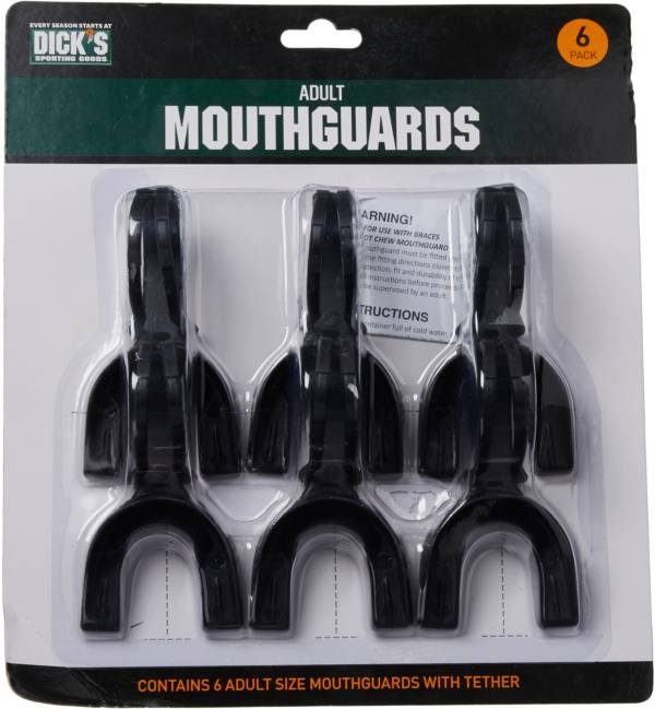 DICK's Sporting Goods Adult Mouthguards – 6 Pack product image