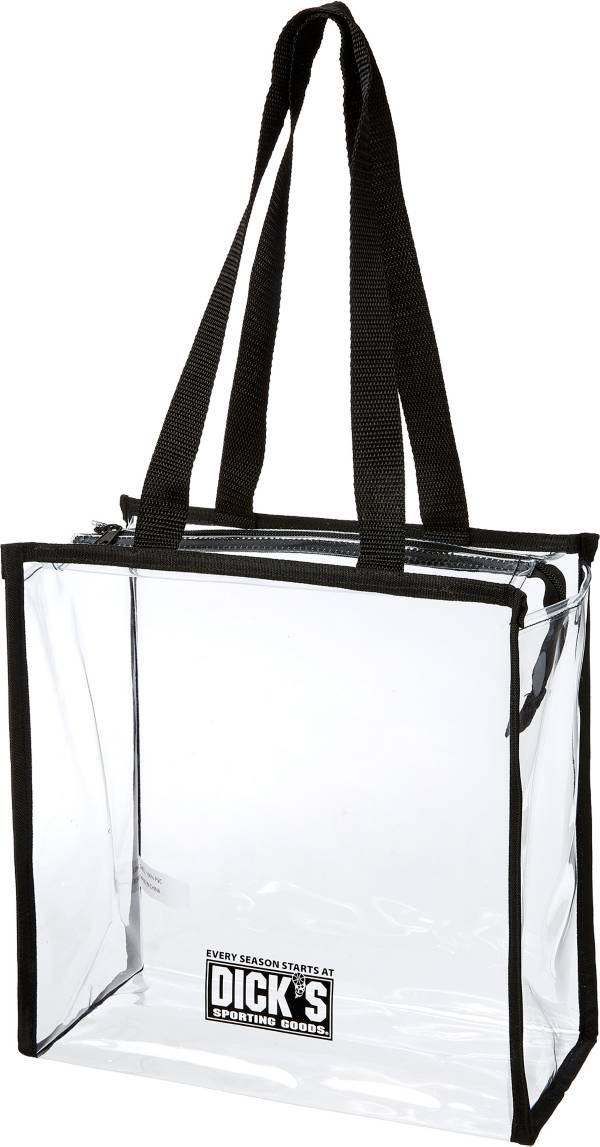 DICK'S Sporting Goods Clear Stadium Zipper Tote product image