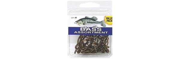 Eagle Claw Bass Hook Assortment product image
