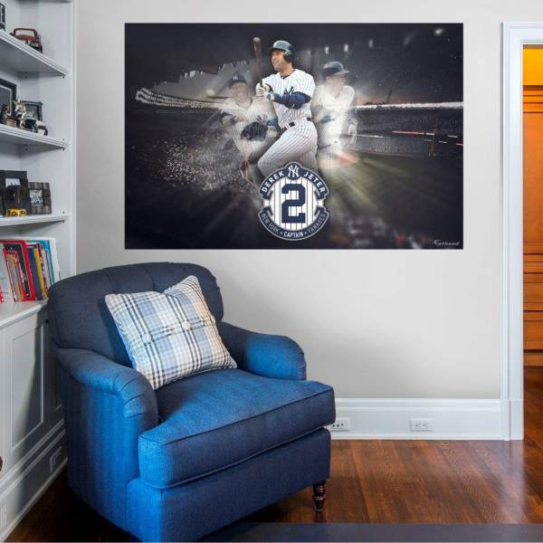 Fathead New York Yankees Derek Jeter The Captain Mural Wall Decal product image