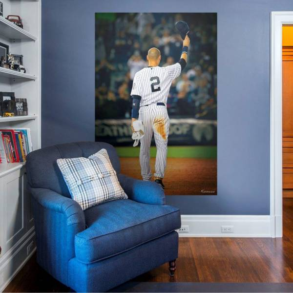 Fathead New York Yankees Derek Jeter Yankee Farewell Mural Wall Decal product image