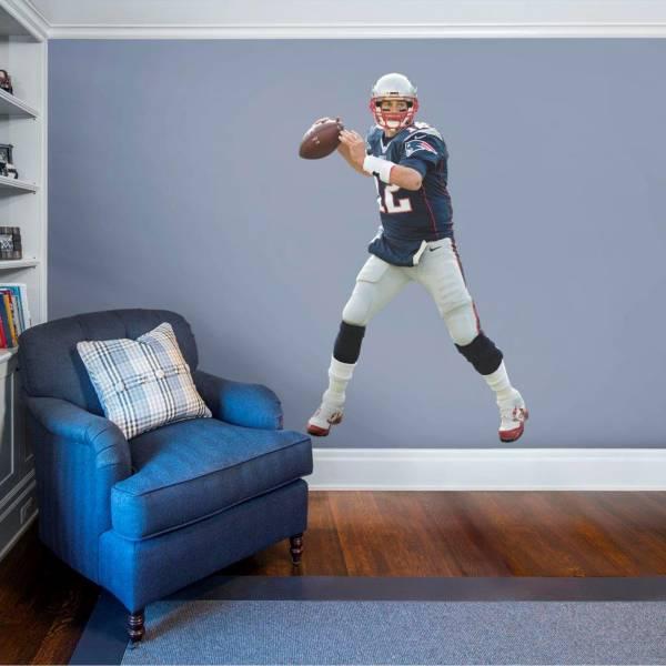 Fathead New England Patriots Tom Brady Wall Decal product image