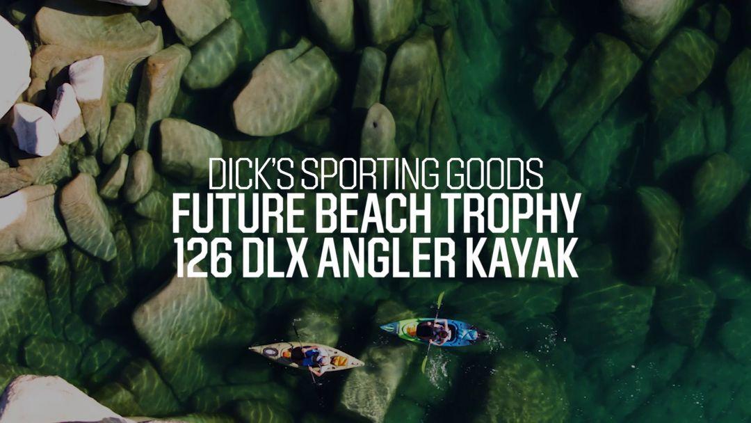 Future Beach Trophy 126 Deluxe Angler Kayak