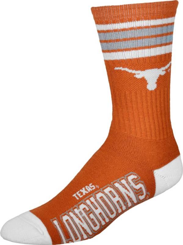 Texas Longhorns 4-Stripe Deuce Crew Socks product image