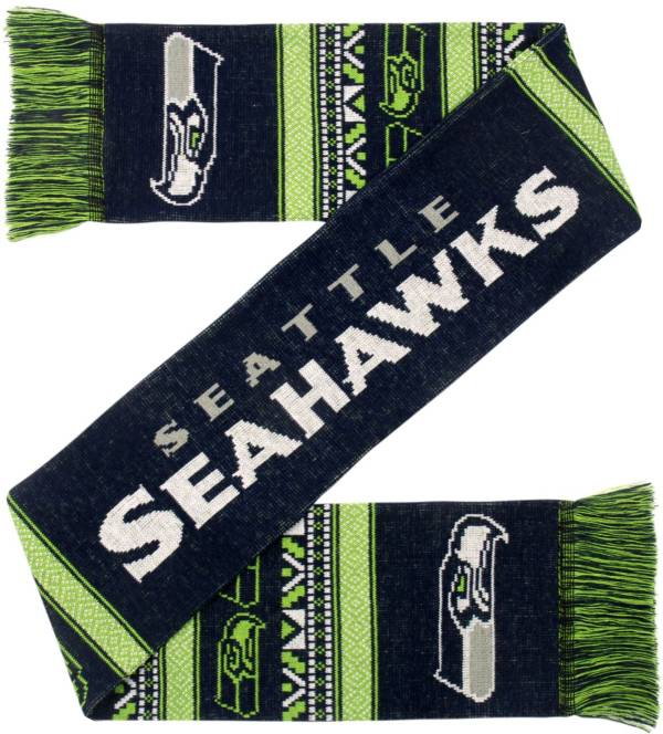 FOCO Seattle Seahawks Ugly Scarf product image