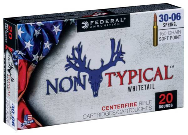 Federal Non-Typical Whitetail SP Rifle Ammunition product image