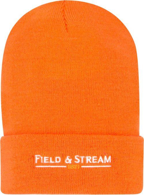 7b86988aa83 Field   Stream Men s Blaze Orange Hunting Beanie