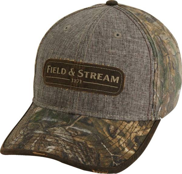 Field & Stream Suiting Waxed Patch Camo Hat product image