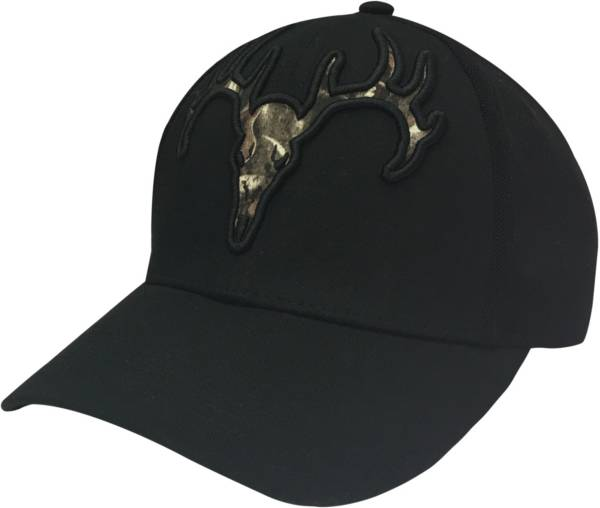 Field & Stream Men's Stretch Fit Tonal Deer Skull Hat product image