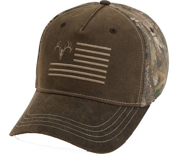 Field & Stream Men's Waxed Ember Flag Camo Hat product image