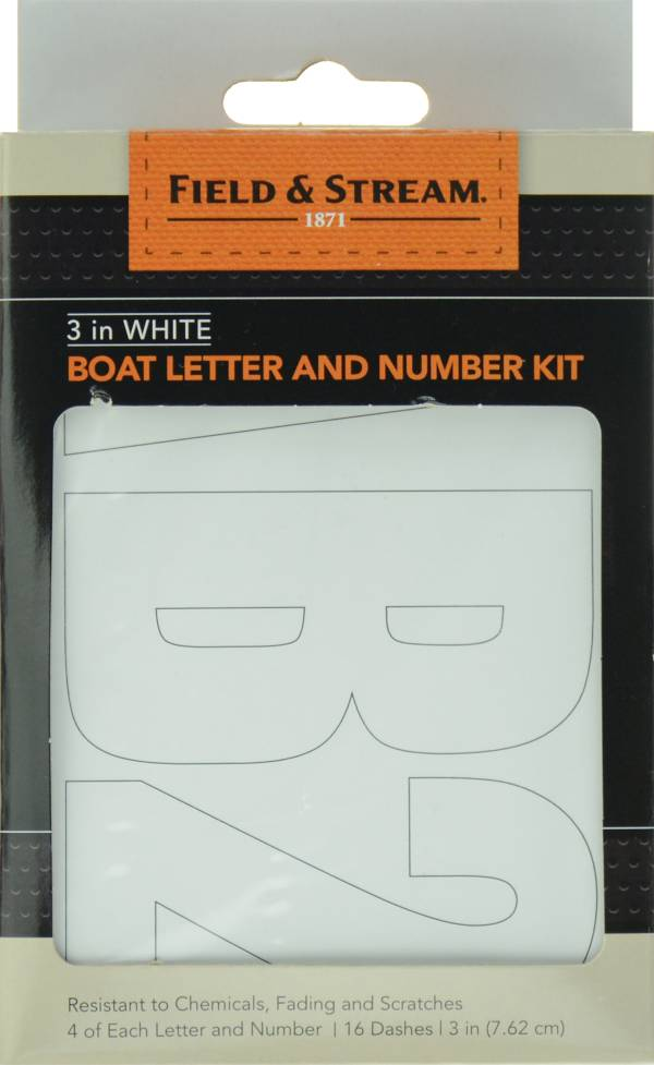 Field & Stream Boat Letter and Number Kit product image