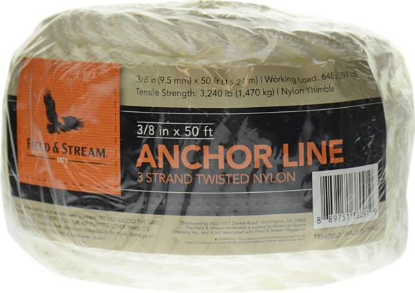 Field & Stream 3 Strand Twisted Nylon Anchor Line product image