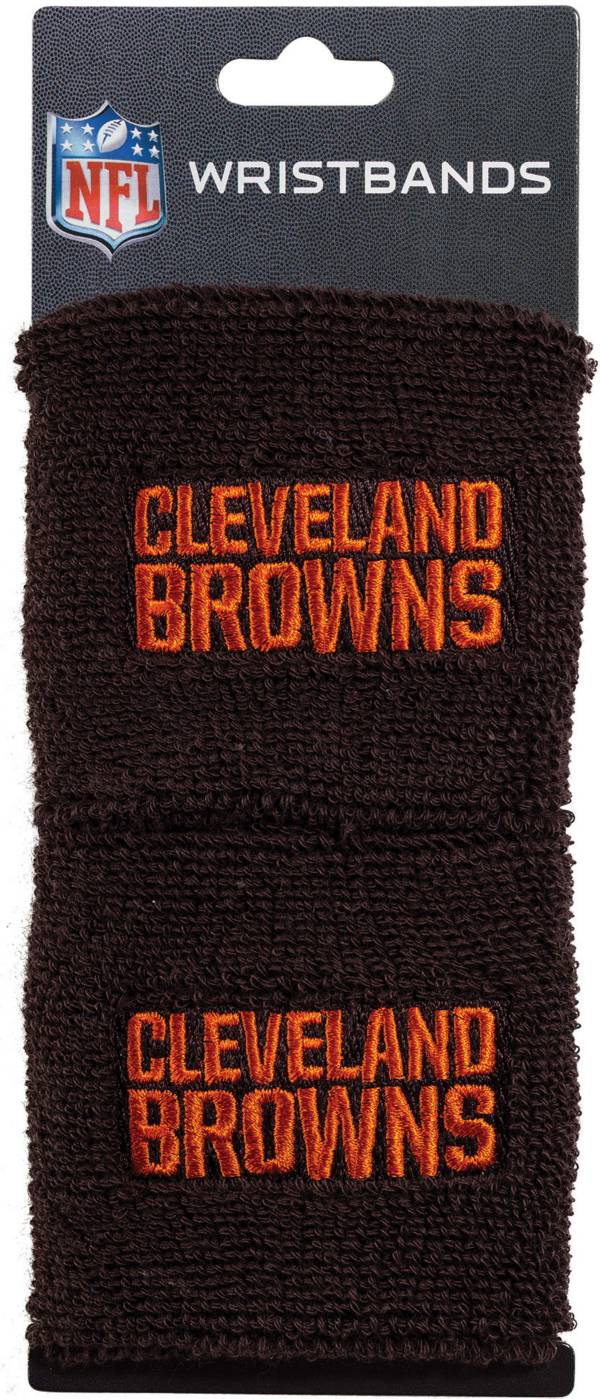 Franklin Cleveland Browns Embroidered Wristbands product image