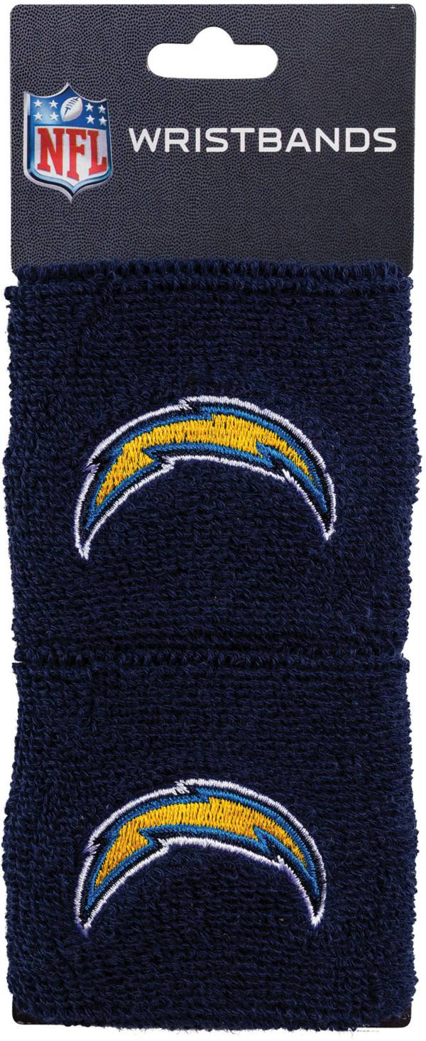 Franklin Los Angeles Chargers Embroidered Wristbands product image