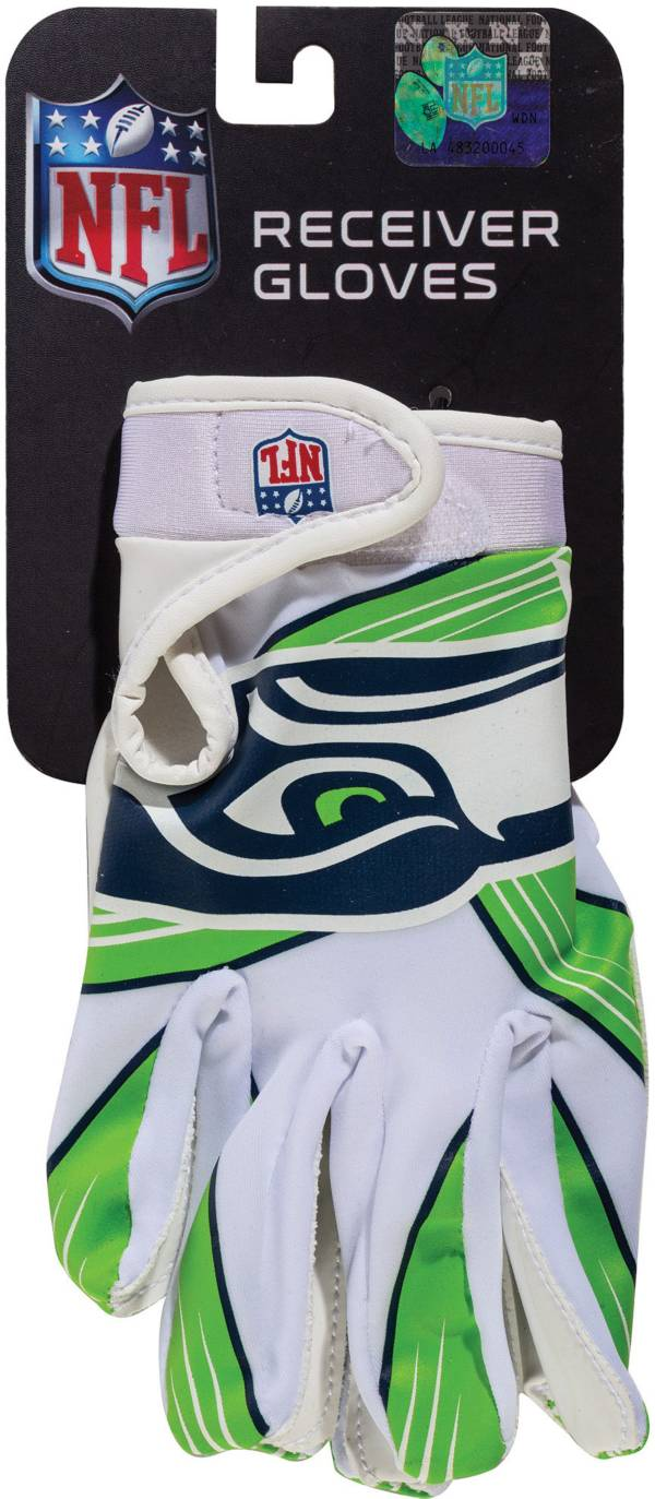 Franklin Youth Seattle Seahawks Team Logo Receiver Gloves product image