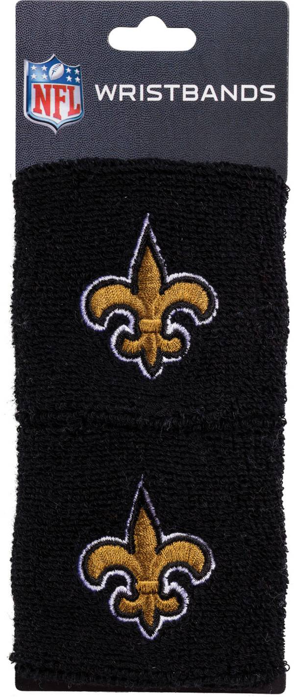 Franklin New Orleans Saints Embroidered Wristbands product image