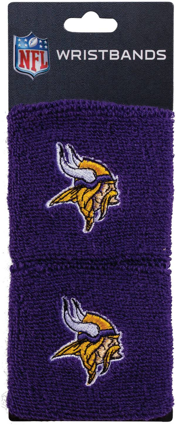 Franklin Minnesota Vikings Embroidered Wristbands product image
