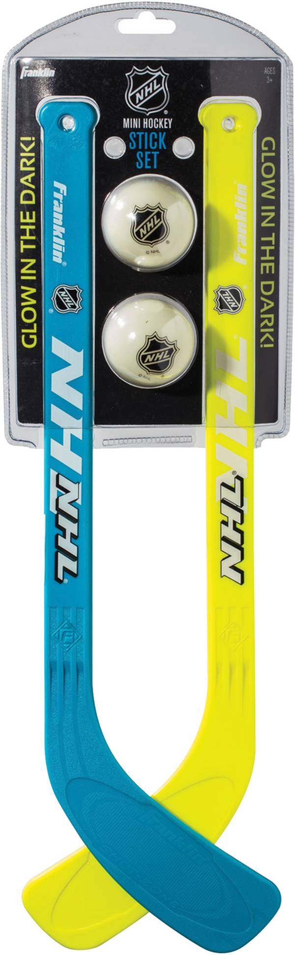 Franklin Glow in the Dark Mini Street Hockey Player Stick and Ball Set product image