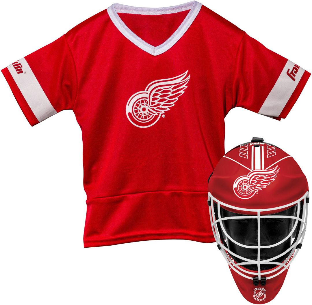 online store c2e33 312c7 Franklin Detroit Redwings Kids' Goalie Costume Set