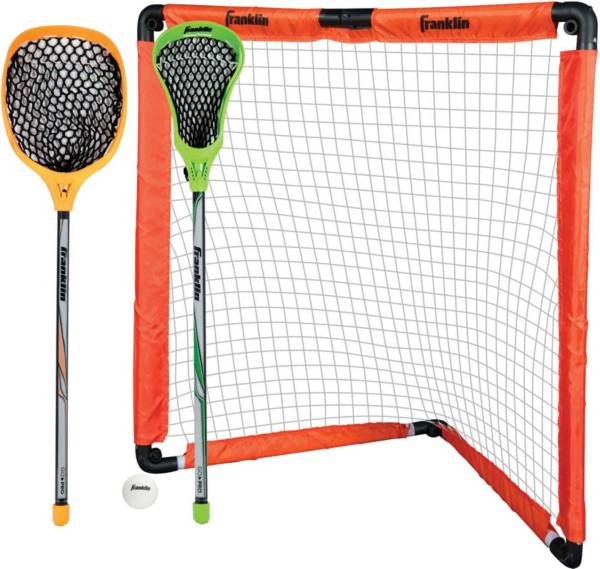 Franklin Sports Youth Lacrosse Goal and Stick Set product image