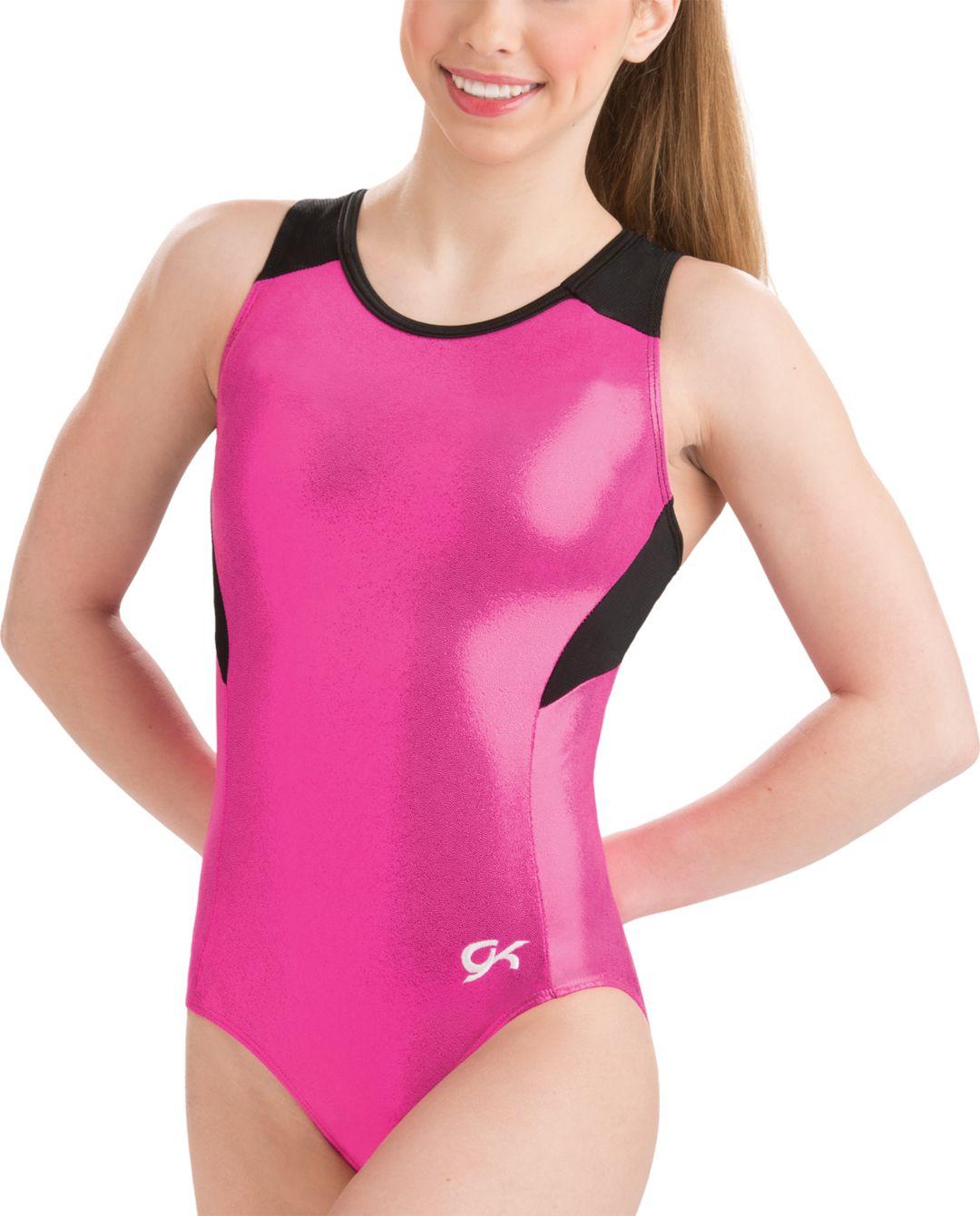 251990363a57 GK Elite Women's Mesh Racerback Gymnastics Leotard   DICK'S Sporting ...