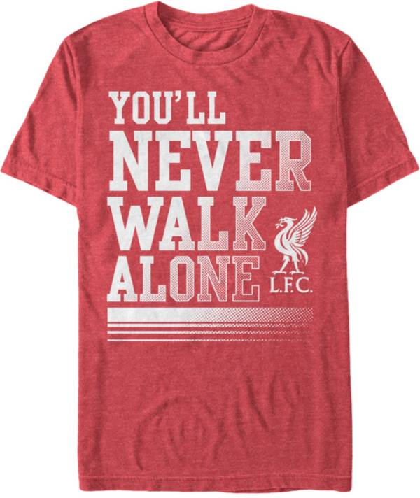 Fifth Sun Men's Liverpool Never Walk Alone Red T-Shirt product image