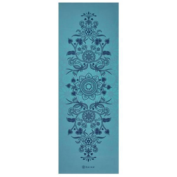Gaiam 6mm Premium Print Reversible Yoga Mat product image