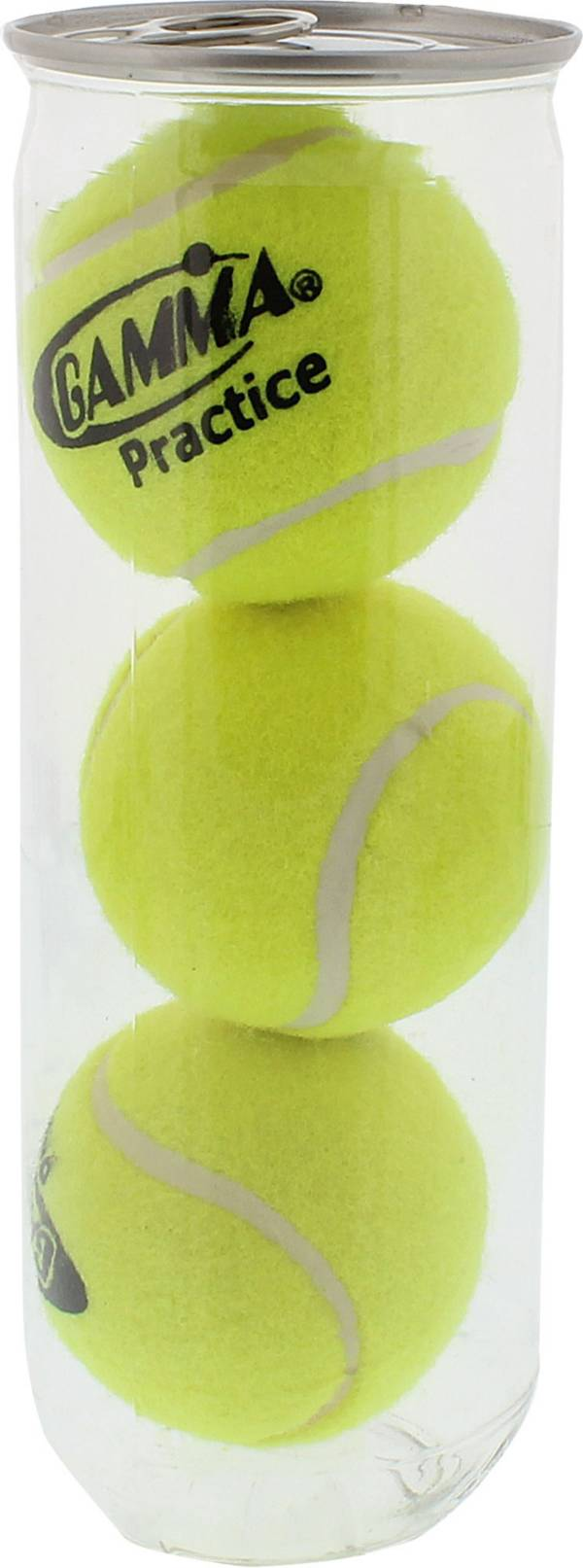GAMMA Practice Tennis Balls – 3 Can product image