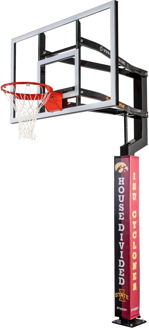 Goalsetter Iowa / ISU House Divided Basketball Pole Pad product image