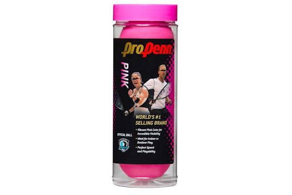 Pro Penn Pink High Visibility Racquetballs product image