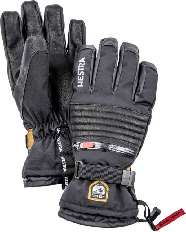 Hestra Ski Mittens for Kids Waterproof C-Zone Cold Weather Winter Gloves