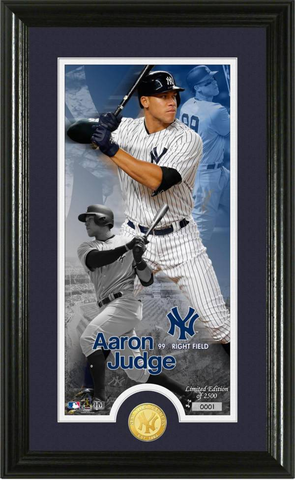 Highland Mint New York Yankees Aaron Judge 'Supreme' Bronze Coin Photo Mint product image