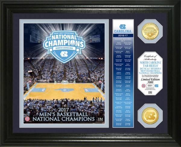 "Highland Mint North Carolina Tar Heels 2017 NCAA Men's Basketball National Champions ""Banner"" Bronze Coin Photo Mint product image"