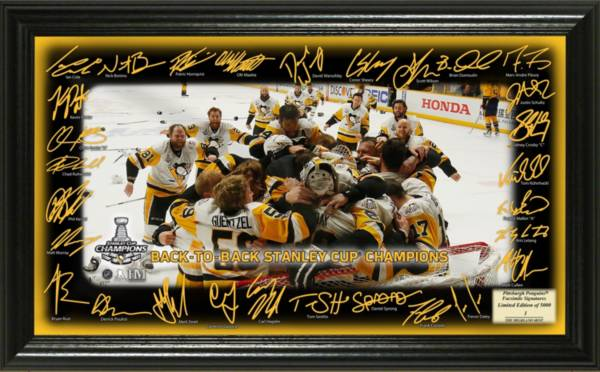 "Highland Mint 2017 Stanley Cup Champions Pittsburgh Penguins ""Celebration"" Signature Photo product image"