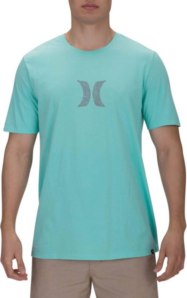 New Hurley Mens Icon Slash Push Through Soft Premium T-Shirt Medium